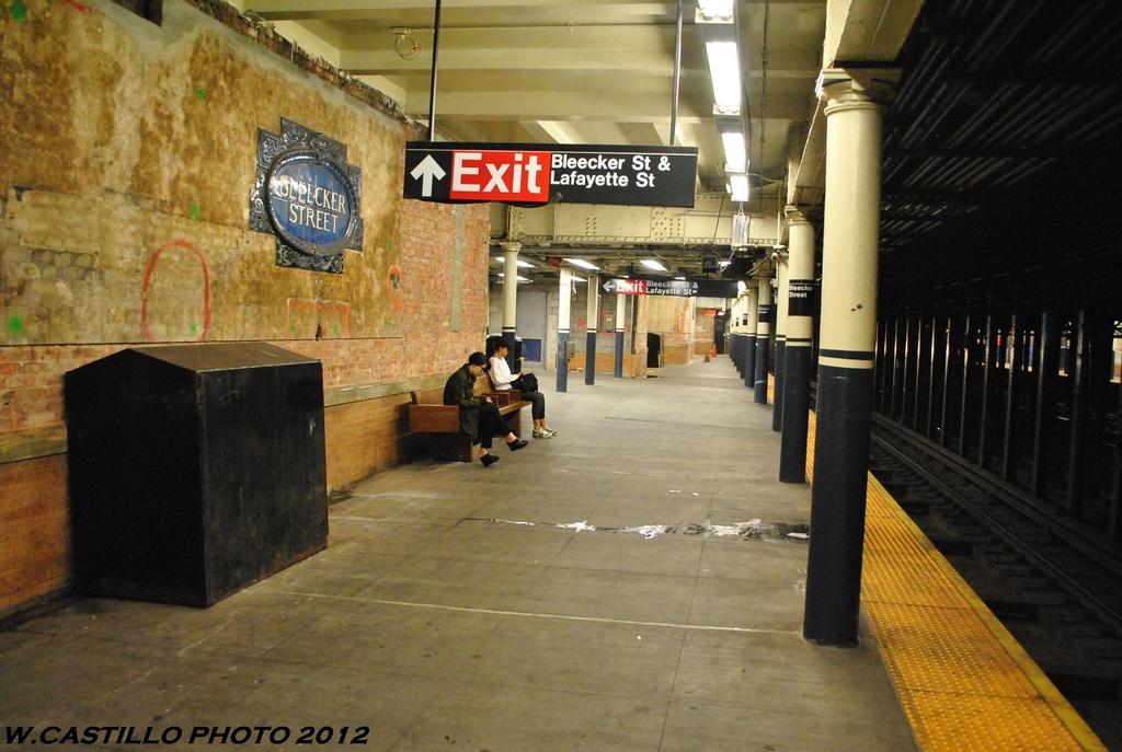 (294k, 1024x687)<br><b>Country:</b> United States<br><b>City:</b> New York<br><b>System:</b> New York City Transit<br><b>Line:</b> IRT East Side Line<br><b>Location:</b> Bleecker Street <br><b>Photo by:</b> Wilfredo Castillo<br><b>Date:</b> 5/15/2012<br><b>Viewed (this week/total):</b> 1 / 1427