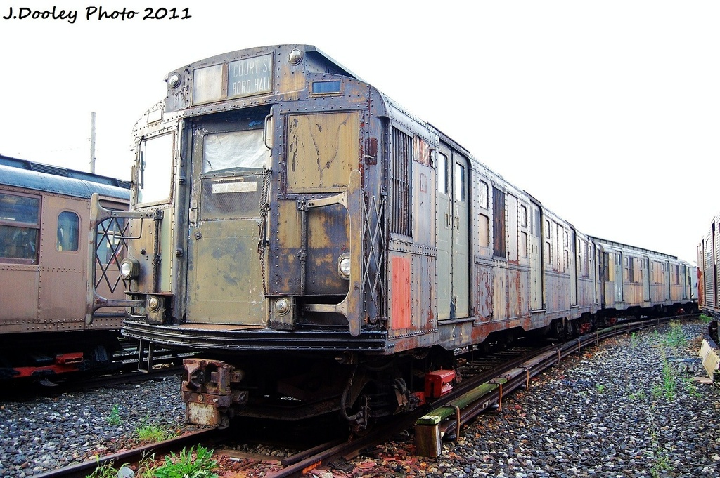 (363k, 1024x681)<br><b>Country:</b> United States<br><b>City:</b> New York<br><b>System:</b> New York City Transit<br><b>Location:</b> Coney Island Yard-Museum Yard<br><b>Car:</b> R-6-3 (American Car & Foundry, 1935)  925 <br><b>Photo by:</b> John Dooley<br><b>Date:</b> 8/26/2011<br><b>Viewed (this week/total):</b> 8 / 2783