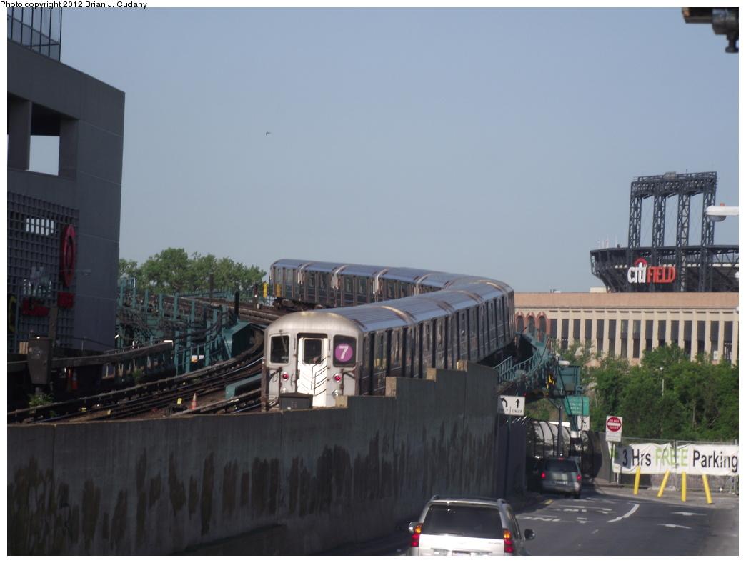(267k, 1044x788)<br><b>Country:</b> United States<br><b>City:</b> New York<br><b>System:</b> New York City Transit<br><b>Line:</b> IRT Flushing Line<br><b>Location:</b> Main St. Tunnel Portal <br><b>Route:</b> 7<br><b>Car:</b> R-62A (Bombardier, 1984-1987)   <br><b>Photo by:</b> Brian J. Cudahy<br><b>Date:</b> 5/18/2011<br><b>Viewed (this week/total):</b> 0 / 1224
