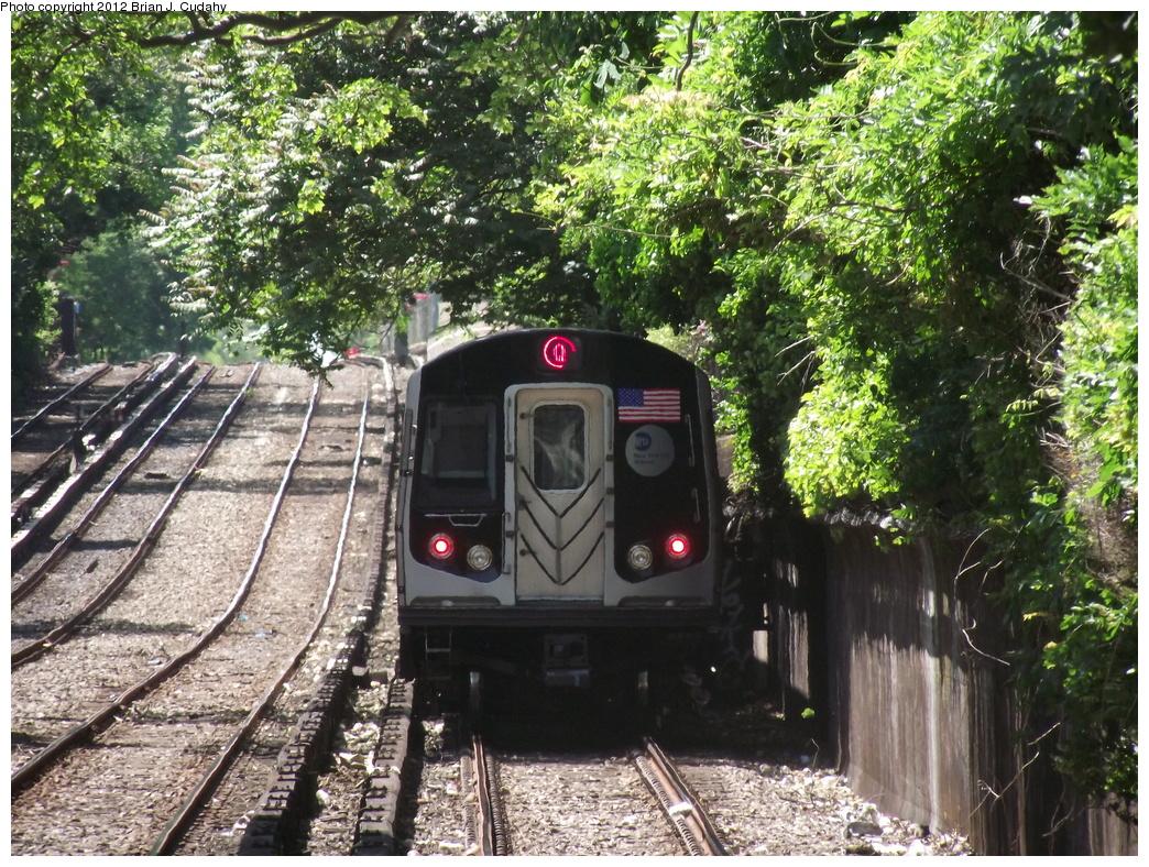 (529k, 1044x788)<br><b>Country:</b> United States<br><b>City:</b> New York<br><b>System:</b> New York City Transit<br><b>Line:</b> BMT Brighton Line<br><b>Location:</b> Newkirk Plaza (fmrly Newkirk Ave.) <br><b>Route:</b> Q<br><b>Car:</b> R-160A/R-160B Series (Number Unknown)  <br><b>Photo by:</b> Brian J. Cudahy<br><b>Date:</b> 5/18/2011<br><b>Viewed (this week/total):</b> 0 / 855