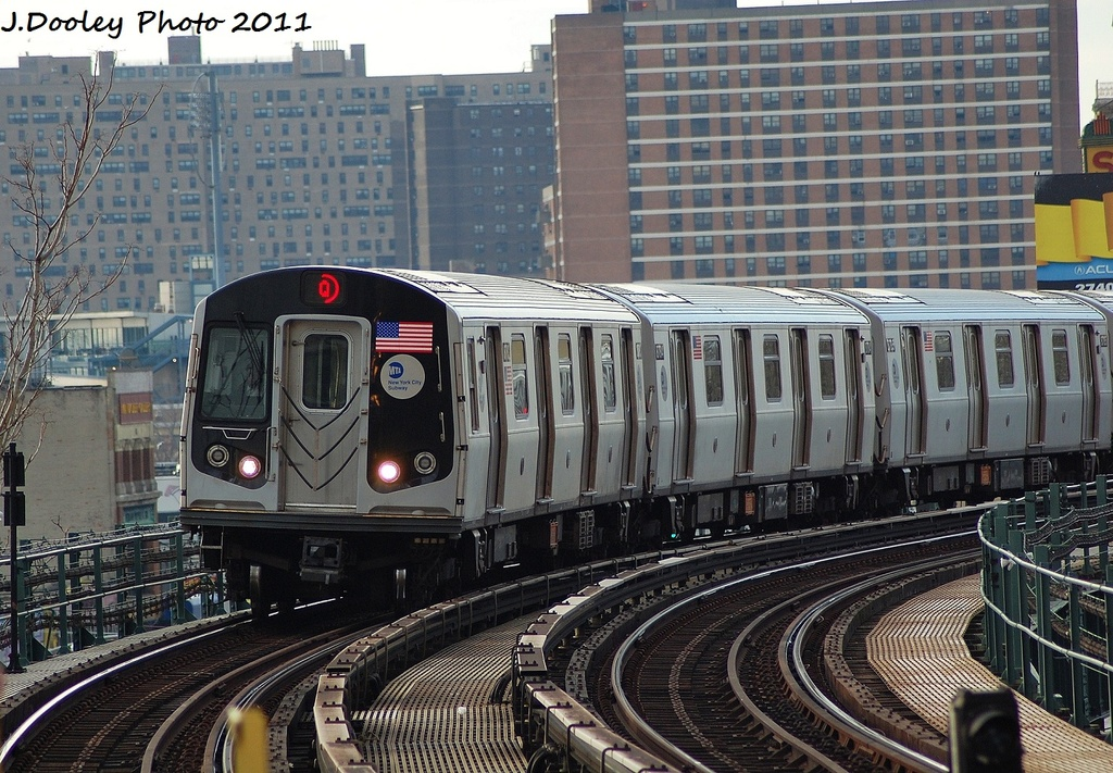 (406k, 1024x711)<br><b>Country:</b> United States<br><b>City:</b> New York<br><b>System:</b> New York City Transit<br><b>Line:</b> BMT Brighton Line<br><b>Location:</b> West 8th Street <br><b>Route:</b> Q<br><b>Car:</b> R-160B (Kawasaki, 2005-2008)  8783 <br><b>Photo by:</b> John Dooley<br><b>Date:</b> 12/31/2011<br><b>Viewed (this week/total):</b> 0 / 948