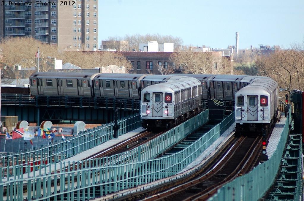 (380k, 1024x677)<br><b>Country:</b> United States<br><b>City:</b> New York<br><b>System:</b> New York City Transit<br><b>Line:</b> IRT Brooklyn Line<br><b>Location:</b> Sutter Avenue/Rutland Road <br><b>Route:</b> 3<br><b>Car:</b> R-62 (Kawasaki, 1983-1985)  1471 <br><b>Photo by:</b> John Dooley<br><b>Date:</b> 3/29/2012<br><b>Viewed (this week/total):</b> 2 / 1329