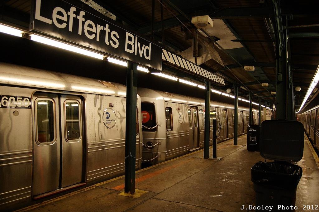 (342k, 1024x680)<br><b>Country:</b> United States<br><b>City:</b> New York<br><b>System:</b> New York City Transit<br><b>Line:</b> IND Fulton Street Line<br><b>Location:</b> Lefferts Boulevard <br><b>Route:</b> S<br><b>Car:</b> R-46 (Pullman-Standard, 1974-75)  <br><b>Photo by:</b> John Dooley<br><b>Date:</b> 5/25/2012<br><b>Viewed (this week/total):</b> 0 / 753