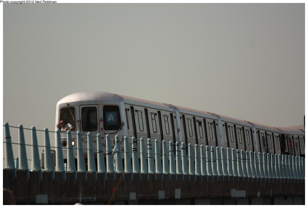(184k, 1044x703)<br><b>Country:</b> United States<br><b>City:</b> New York<br><b>System:</b> New York City Transit<br><b>Line:</b> IND Rockaway<br><b>Location:</b> Broad Channel <br><b>Route:</b> A<br><b>Car:</b> R-46 (Pullman-Standard, 1974-75) 5880 <br><b>Photo by:</b> Neil Feldman<br><b>Date:</b> 6/8/2012<br><b>Viewed (this week/total):</b> 0 / 711