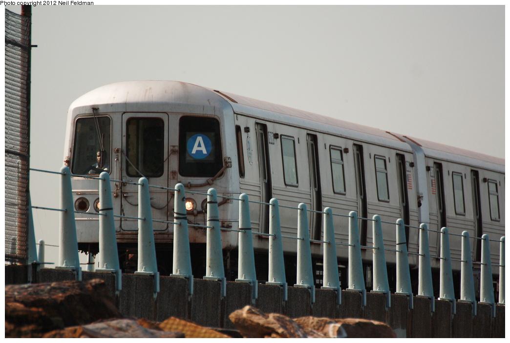 (248k, 1044x703)<br><b>Country:</b> United States<br><b>City:</b> New York<br><b>System:</b> New York City Transit<br><b>Line:</b> IND Rockaway<br><b>Location:</b> Broad Channel <br><b>Route:</b> A<br><b>Car:</b> R-46 (Pullman-Standard, 1974-75) 6016 <br><b>Photo by:</b> Neil Feldman<br><b>Date:</b> 6/8/2012<br><b>Viewed (this week/total):</b> 0 / 700