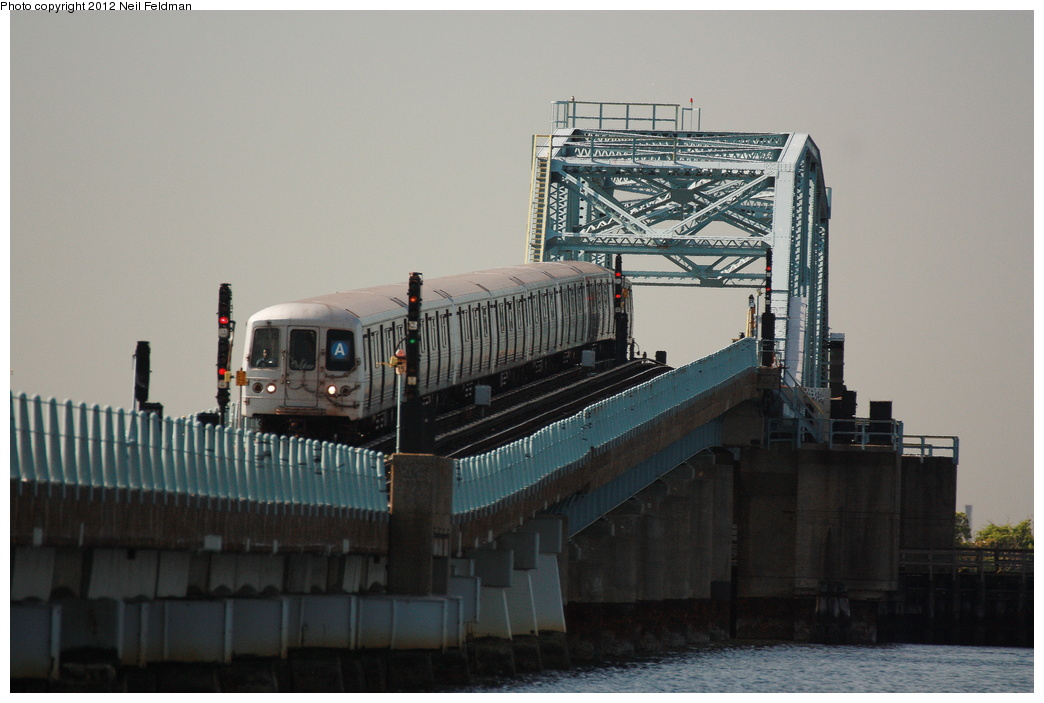 (237k, 1044x703)<br><b>Country:</b> United States<br><b>City:</b> New York<br><b>System:</b> New York City Transit<br><b>Line:</b> IND Rockaway<br><b>Location:</b> Broad Channel <br><b>Route:</b> A<br><b>Car:</b> R-46 (Pullman-Standard, 1974-75) 6016 <br><b>Photo by:</b> Neil Feldman<br><b>Date:</b> 6/8/2012<br><b>Viewed (this week/total):</b> 1 / 885