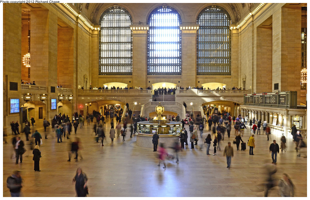 (445k, 1044x676)<br><b>Country:</b> United States<br><b>City:</b> New York<br><b>System:</b> Metro-North Railroad (or Amtrak or Predecessor RR)<br><b>Line:</b> Metro North-Grand Central/Park Avenue Viaduct<br><b>Location:</b> Grand Central Terminal <br><b>Photo by:</b> Richard Chase<br><b>Date:</b> 3/8/2012<br><b>Viewed (this week/total):</b> 1 / 355
