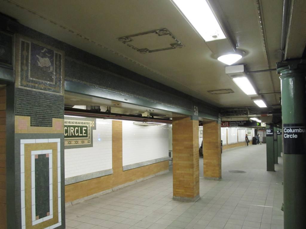 (84k, 1024x768)<br><b>Country:</b> United States<br><b>City:</b> New York<br><b>System:</b> New York City Transit<br><b>Line:</b> IRT West Side Line<br><b>Location:</b> 59th Street/Columbus Circle <br><b>Photo by:</b> Robbie Rosenfeld<br><b>Date:</b> 5/31/2012<br><b>Viewed (this week/total):</b> 0 / 921