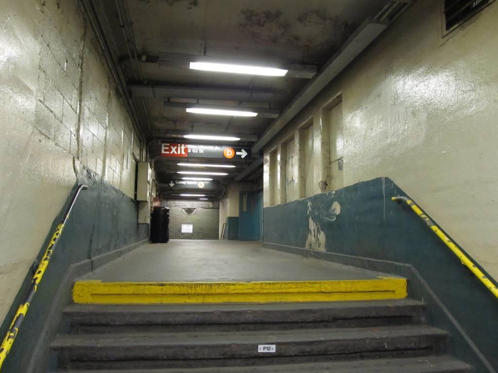 (95k, 1024x768)<br><b>Country:</b> United States<br><b>City:</b> New York<br><b>System:</b> New York City Transit<br><b>Line:</b> BMT West End Line<br><b>Location:</b> 62nd Street <br><b>Photo by:</b> Robbie Rosenfeld<br><b>Date:</b> 6/11/2012<br><b>Viewed (this week/total):</b> 0 / 849