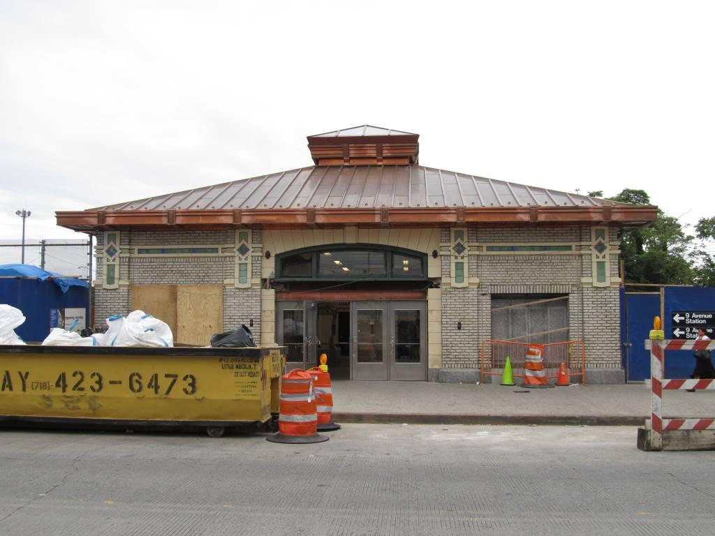 (97k, 1024x768)<br><b>Country:</b> United States<br><b>City:</b> New York<br><b>System:</b> New York City Transit<br><b>Line:</b> BMT West End Line<br><b>Location:</b> 9th Avenue <br><b>Photo by:</b> Robbie Rosenfeld<br><b>Date:</b> 6/11/2012<br><b>Viewed (this week/total):</b> 0 / 1110