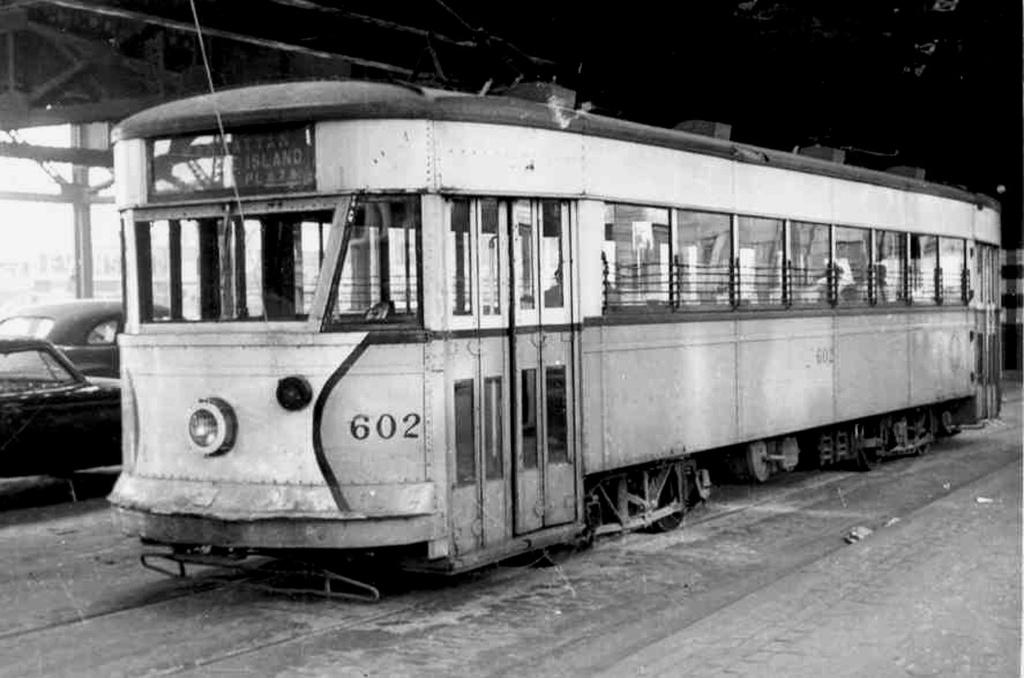 (182k, 1024x678)<br><b>Country:</b> United States<br><b>City:</b> New York<br><b>System:</b> Queensborough Bridge Railway<br><b>Location:</b> Queensborough Plaza <br><b>Car:</b>  602 <br><b>Collection of:</b> Frank Pfuhler<br><b>Date:</b> 1/5/1954<br><b>Viewed (this week/total):</b> 3 / 447