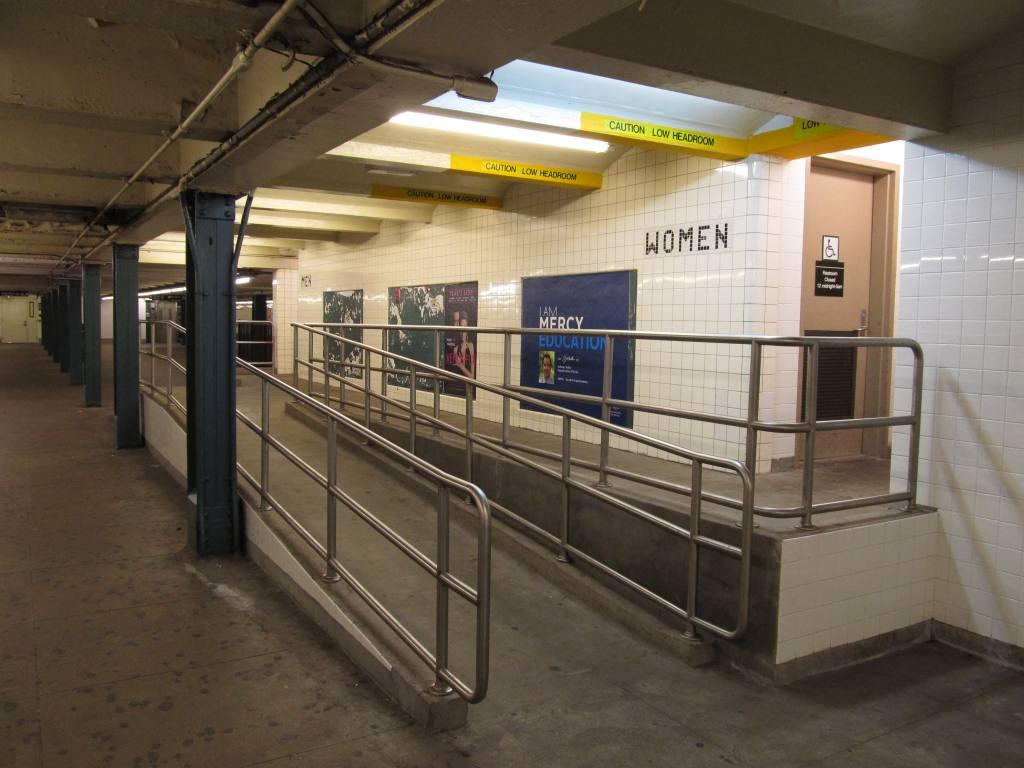 (100k, 1024x768)<br><b>Country:</b> United States<br><b>City:</b> New York<br><b>System:</b> New York City Transit<br><b>Line:</b> IND Crosstown Line<br><b>Location:</b> Church Avenue <br><b>Photo by:</b> Robbie Rosenfeld<br><b>Date:</b> 6/18/2012<br><b>Notes:</b> Restrooms.<br><b>Viewed (this week/total):</b> 0 / 1077