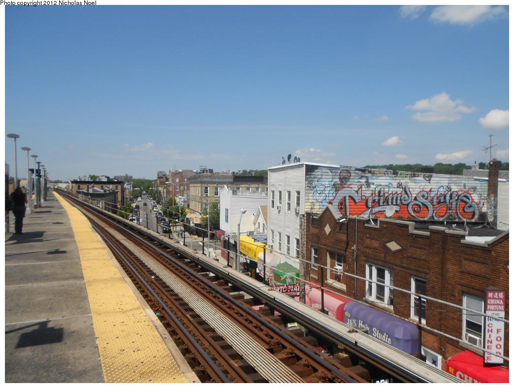 (395k, 1044x788)<br><b>Country:</b> United States<br><b>City:</b> New York<br><b>System:</b> New York City Transit<br><b>Line:</b> BMT Nassau Street/Jamaica Line<br><b>Location:</b> Norwood Avenue <br><b>Photo by:</b> Nicholas Noel<br><b>Date:</b> 6/2/2012<br><b>Viewed (this week/total):</b> 5 / 1017