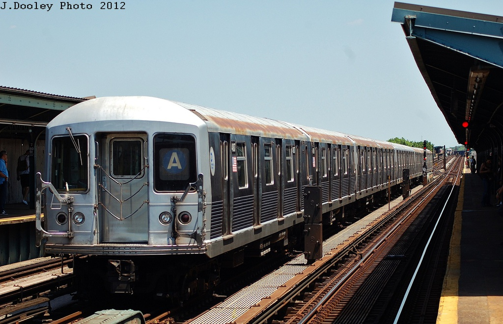 (311k, 1024x661)<br><b>Country:</b> United States<br><b>City:</b> New York<br><b>System:</b> New York City Transit<br><b>Line:</b> IND Fulton Street Line<br><b>Location:</b> 80th Street/Hudson Street <br><b>Route:</b> A<br><b>Car:</b> R-42 (St. Louis, 1969-1970)  4812 <br><b>Photo by:</b> John Dooley<br><b>Date:</b> 5/31/2012<br><b>Viewed (this week/total):</b> 0 / 767