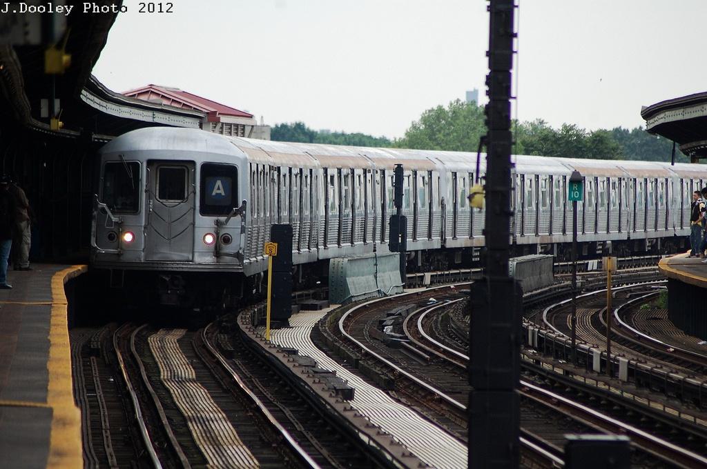 (323k, 1024x680)<br><b>Country:</b> United States<br><b>City:</b> New York<br><b>System:</b> New York City Transit<br><b>Line:</b> IND Fulton Street Line<br><b>Location:</b> Rockaway Boulevard <br><b>Route:</b> A<br><b>Car:</b> R-42 (St. Louis, 1969-1970)  4815 <br><b>Photo by:</b> John Dooley<br><b>Date:</b> 5/30/2012<br><b>Viewed (this week/total):</b> 5 / 686