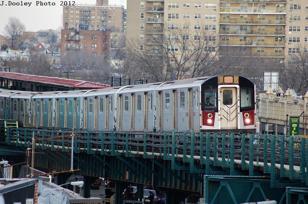 (416k, 1024x680)<br><b>Country:</b> United States<br><b>City:</b> New York<br><b>System:</b> New York City Transit<br><b>Line:</b> IRT Pelham Line<br><b>Location:</b> Elder Avenue <br><b>Route:</b> 6<br><b>Car:</b> R-142A (Primary Order, Kawasaki, 1999-2002)  7351 <br><b>Photo by:</b> John Dooley<br><b>Date:</b> 2/22/2012<br><b>Viewed (this week/total):</b> 3 / 775