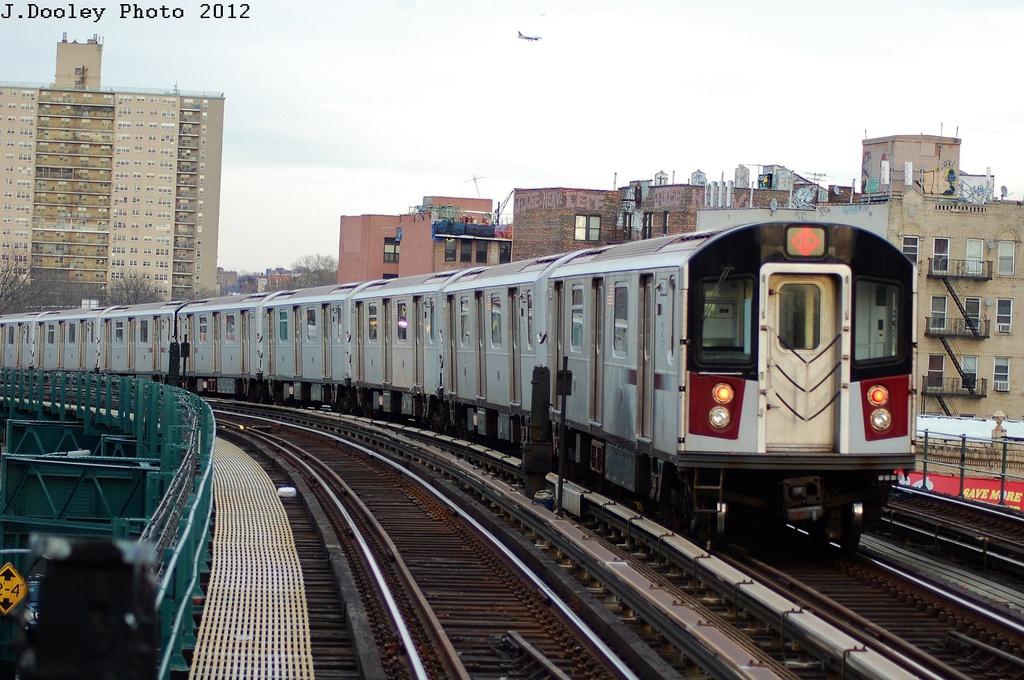 (340k, 1024x680)<br><b>Country:</b> United States<br><b>City:</b> New York<br><b>System:</b> New York City Transit<br><b>Line:</b> IRT Pelham Line<br><b>Location:</b> Elder Avenue <br><b>Route:</b> 6<br><b>Car:</b> R-142A (Primary Order, Kawasaki, 1999-2002)  7580 <br><b>Photo by:</b> John Dooley<br><b>Date:</b> 2/22/2012<br><b>Viewed (this week/total):</b> 1 / 748