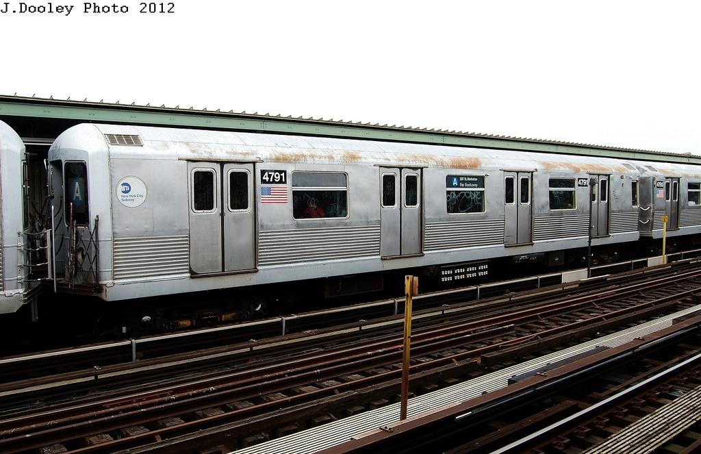 (307k, 1024x663)<br><b>Country:</b> United States<br><b>City:</b> New York<br><b>System:</b> New York City Transit<br><b>Line:</b> IND Fulton Street Line<br><b>Location:</b> 104th Street/Oxford Ave. <br><b>Route:</b> A<br><b>Car:</b> R-42 (St. Louis, 1969-1970)  4791 <br><b>Photo by:</b> John Dooley<br><b>Date:</b> 5/30/2012<br><b>Viewed (this week/total):</b> 0 / 895