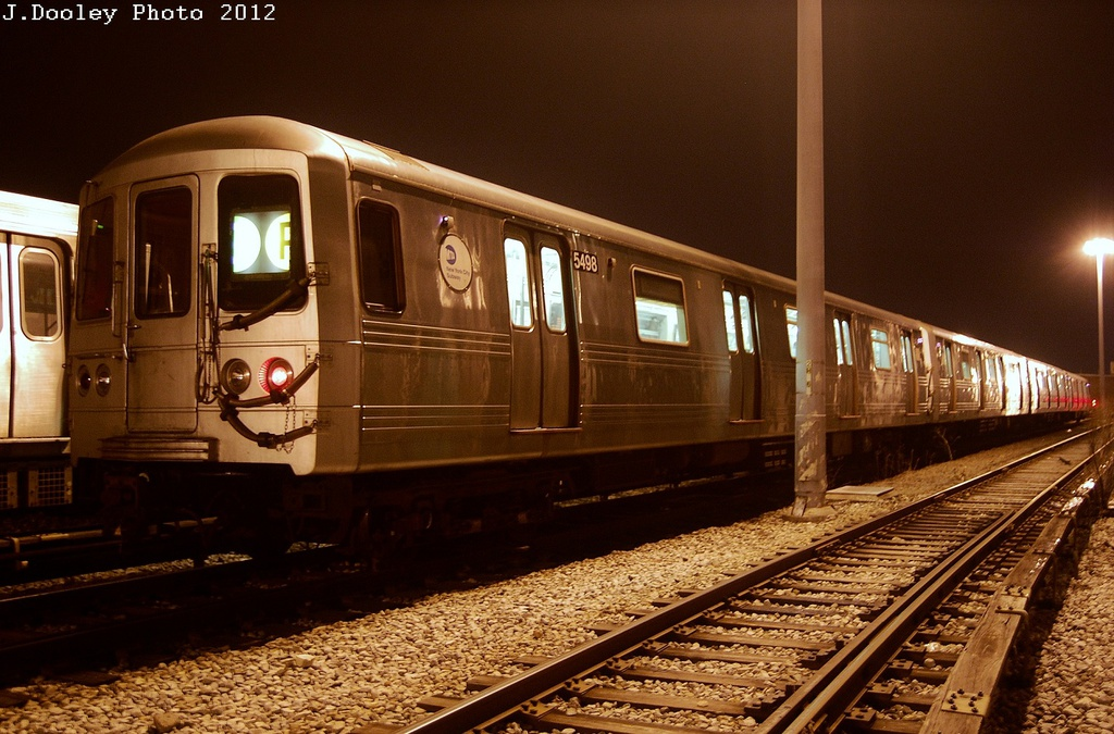(338k, 1024x675)<br><b>Country:</b> United States<br><b>City:</b> New York<br><b>System:</b> New York City Transit<br><b>Location:</b> Coney Island Yard<br><b>Car:</b> R-46 (Pullman-Standard, 1974-75) 5498 <br><b>Photo by:</b> John Dooley<br><b>Date:</b> 2/23/2012<br><b>Viewed (this week/total):</b> 0 / 1922