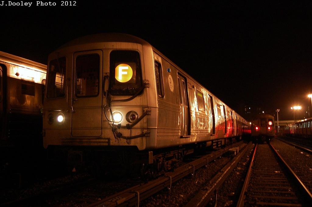 (249k, 1024x680)<br><b>Country:</b> United States<br><b>City:</b> New York<br><b>System:</b> New York City Transit<br><b>Location:</b> Coney Island Yard<br><b>Car:</b> R-46 (Pullman-Standard, 1974-75) 5684 <br><b>Photo by:</b> John Dooley<br><b>Date:</b> 2/23/2012<br><b>Viewed (this week/total):</b> 0 / 660
