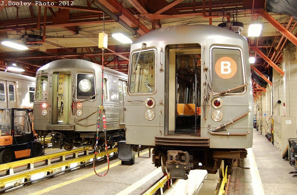 (393k, 1024x672)<br><b>Country:</b> United States<br><b>City:</b> New York<br><b>System:</b> New York City Transit<br><b>Location:</b> Coney Island Shop/Maint. & Inspection Shop<br><b>Car:</b> R-68/R-68A Series (Number Unknown)  <br><b>Photo by:</b> John Dooley<br><b>Date:</b> 2/27/2012<br><b>Viewed (this week/total):</b> 0 / 2108