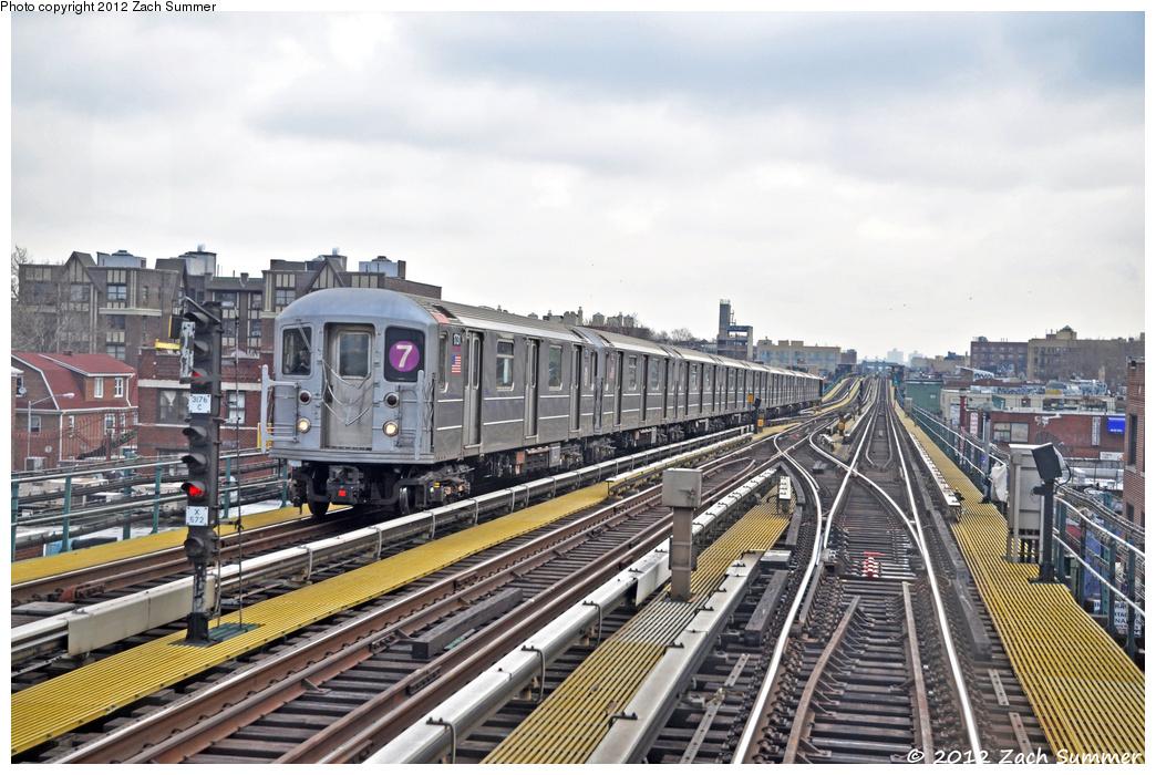 (397k, 1044x700)<br><b>Country:</b> United States<br><b>City:</b> New York<br><b>System:</b> New York City Transit<br><b>Line:</b> IRT Flushing Line<br><b>Location:</b> 74th Street/Broadway <br><b>Route:</b> 7<br><b>Car:</b> R-62A (Bombardier, 1984-1987)  1731 <br><b>Photo by:</b> Zach Summer<br><b>Date:</b> 3/13/2012<br><b>Viewed (this week/total):</b> 2 / 1080