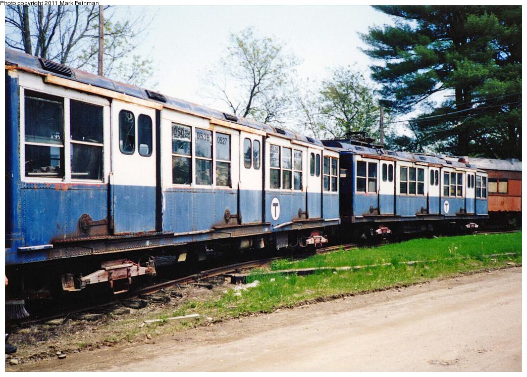 (473k, 1044x746)<br><b>Country:</b> United States<br><b>City:</b> Kennebunk, ME<br><b>System:</b> Seashore Trolley Museum <br><b>Car:</b> MBTA 0500 Series (Pullman, 1923)  05xx <br><b>Photo by:</b> Mark S. Feinman<br><b>Date:</b> 1994<br><b>Viewed (this week/total):</b> 0 / 458