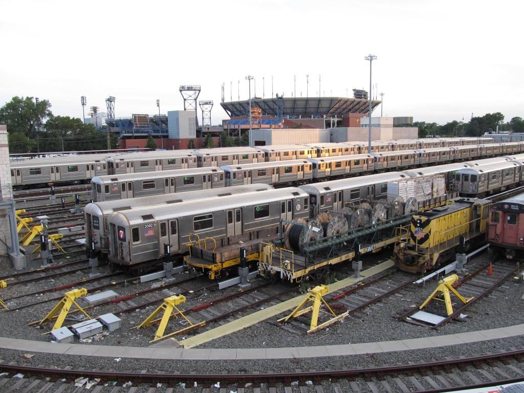 (152k, 1024x768)<br><b>Country:</b> United States<br><b>City:</b> New York<br><b>System:</b> New York City Transit<br><b>Location:</b> Corona Yard<br><b>Car:</b> R-62A (Bombardier, 1984-1987)  2092 <br><b>Photo by:</b> Robbie Rosenfeld<br><b>Date:</b> 8/7/2012<br><b>Viewed (this week/total):</b> 4 / 792