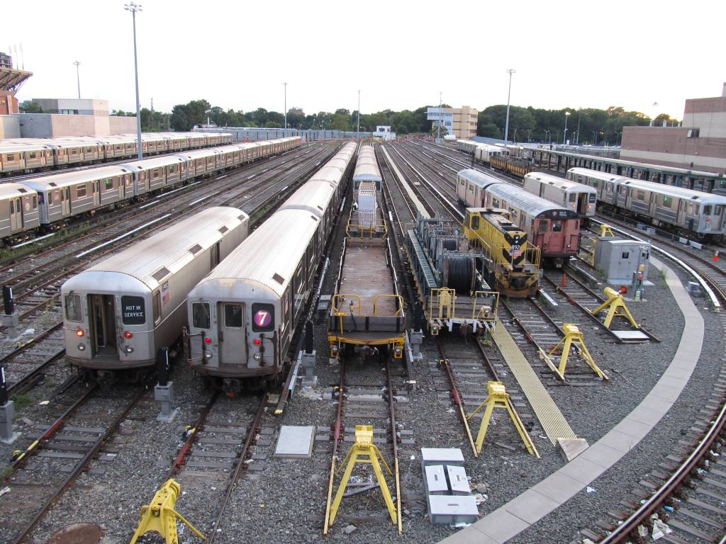 (169k, 1024x768)<br><b>Country:</b> United States<br><b>City:</b> New York<br><b>System:</b> New York City Transit<br><b>Location:</b> Corona Yard<br><b>Photo by:</b> Robbie Rosenfeld<br><b>Date:</b> 8/7/2012<br><b>Viewed (this week/total):</b> 0 / 753
