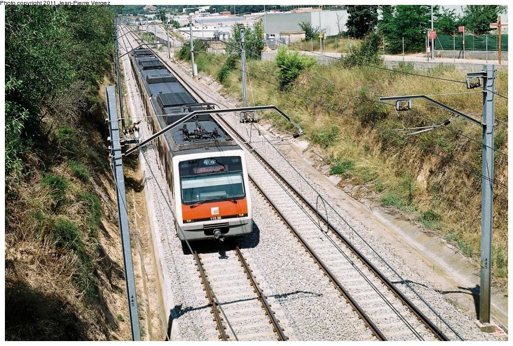 (460k, 1044x705)<br><b>Country:</b> Spain<br><b>City:</b> Barcelona<br><b>System:</b> Ferrocarrils de la Generalitat de Catalunya (FGC) <br><b>Location:</b> Rubi <br><b>Route:</b> S5<br><b>Car:</b>  FGC 112-20/112-56 <br><b>Photo by:</b> Jean-Pierre Vergez<br><b>Date:</b> 8/1/2010<br><b>Viewed (this week/total):</b> 0 / 362