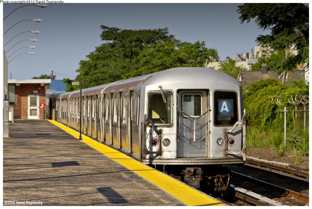 (489k, 1044x702)<br><b>Country:</b> United States<br><b>City:</b> New York<br><b>System:</b> New York City Transit<br><b>Line:</b> IND Rockaway<br><b>Location:</b> Rockaway Park/Beach 116th Street <br><b>Route:</b> A<br><b>Car:</b> R-42 (St. Louis, 1969-1970)  4835 <br><b>Photo by:</b> David Tropiansky<br><b>Date:</b> 7/9/2012<br><b>Viewed (this week/total):</b> 4 / 1236