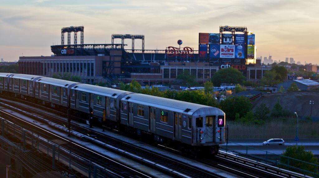 (124k, 1024x573)<br><b>Country:</b> United States<br><b>City:</b> New York<br><b>System:</b> New York City Transit<br><b>Line:</b> IRT Flushing Line<br><b>Location:</b> Main St. Tunnel Portal <br><b>Route:</b> 7<br><b>Car:</b> R-62A (Bombardier, 1984-1987)  1984 <br><b>Photo by:</b> Robert Fein<br><b>Date:</b> 5/12/2012<br><b>Viewed (this week/total):</b> 4 / 805