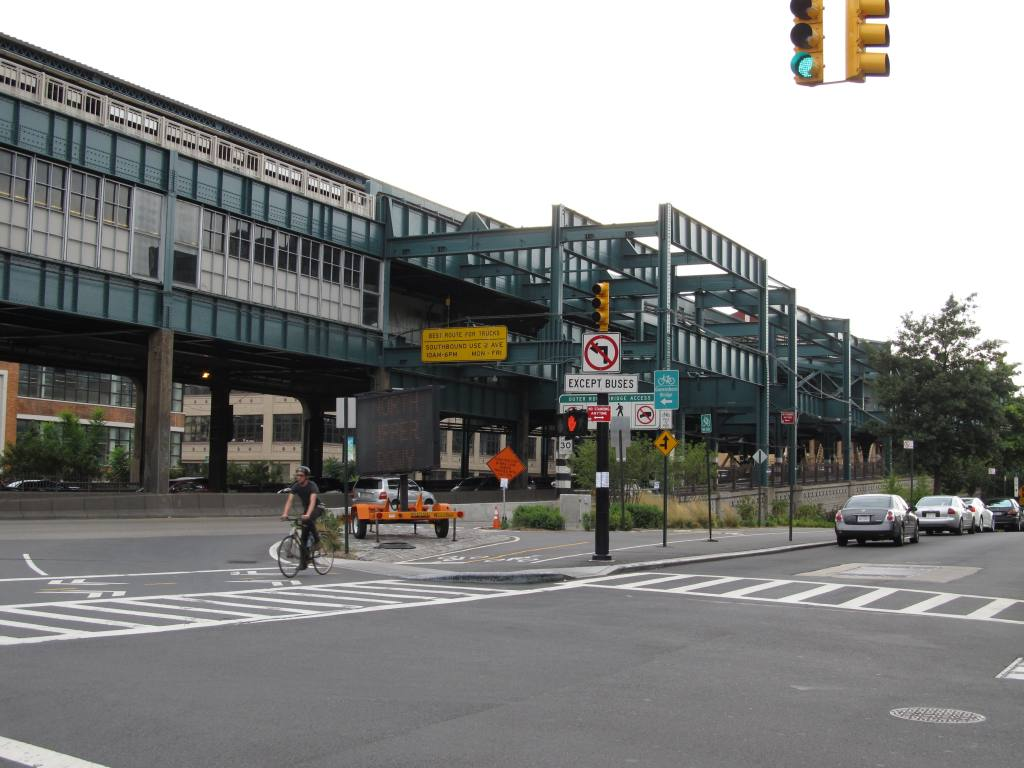 (110k, 1024x768)<br><b>Country:</b> United States<br><b>City:</b> New York<br><b>System:</b> New York City Transit<br><b>Location:</b> Queensborough Plaza <br><b>Photo by:</b> Robbie Rosenfeld<br><b>Date:</b> 8/19/2012<br><b>Notes:</b> Station exterior.<br><b>Viewed (this week/total):</b> 0 / 1470