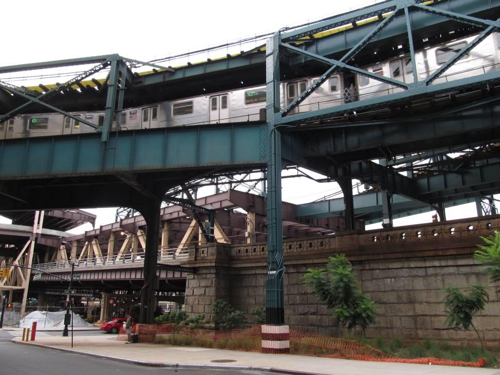 (134k, 1024x768)<br><b>Country:</b> United States<br><b>City:</b> New York<br><b>System:</b> New York City Transit<br><b>Location:</b> Queensborough Plaza <br><b>Photo by:</b> Robbie Rosenfeld<br><b>Date:</b> 8/19/2012<br><b>Notes:</b> Station exterior.<br><b>Viewed (this week/total):</b> 1 / 1311