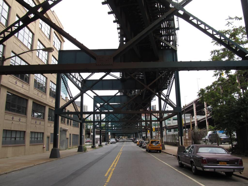 (134k, 1024x768)<br><b>Country:</b> United States<br><b>City:</b> New York<br><b>System:</b> New York City Transit<br><b>Location:</b> Queensborough Plaza <br><b>Photo by:</b> Robbie Rosenfeld<br><b>Date:</b> 8/19/2012<br><b>Notes:</b> Station exterior.<br><b>Viewed (this week/total):</b> 27 / 1521
