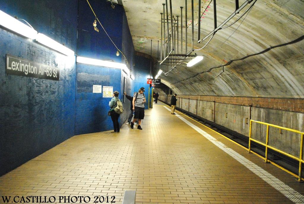 (353k, 1024x687)<br><b>Country:</b> United States<br><b>City:</b> New York<br><b>System:</b> New York City Transit<br><b>Line:</b> IND 63rd Street<br><b>Location:</b> Lexington Avenue-63rd Street <br><b>Photo by:</b> Wilfredo Castillo<br><b>Date:</b> 9/24/2012<br><b>Viewed (this week/total):</b> 0 / 1712
