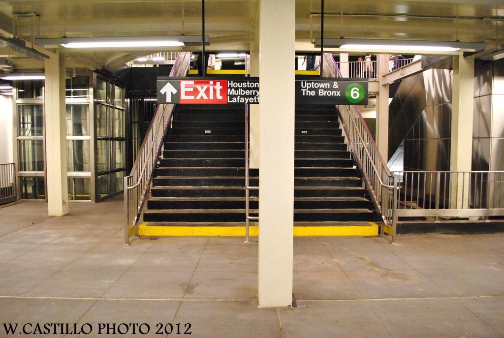 (301k, 1024x687)<br><b>Country:</b> United States<br><b>City:</b> New York<br><b>System:</b> New York City Transit<br><b>Line:</b> IRT East Side Line<br><b>Location:</b> Bleecker Street <br><b>Photo by:</b> Wilfredo Castillo<br><b>Date:</b> 10/9/2012<br><b>Viewed (this week/total):</b> 0 / 1330