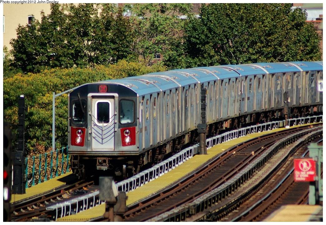 (462k, 1044x720)<br><b>Country:</b> United States<br><b>City:</b> New York<br><b>System:</b> New York City Transit<br><b>Line:</b> IRT White Plains Road Line<br><b>Location:</b> Jackson Avenue <br><b>Route:</b> 2<br><b>Car:</b> R-142 (Primary Order, Bombardier, 1999-2002)   <br><b>Photo by:</b> John Dooley<br><b>Date:</b> 10/11/2012<br><b>Viewed (this week/total):</b> 0 / 993