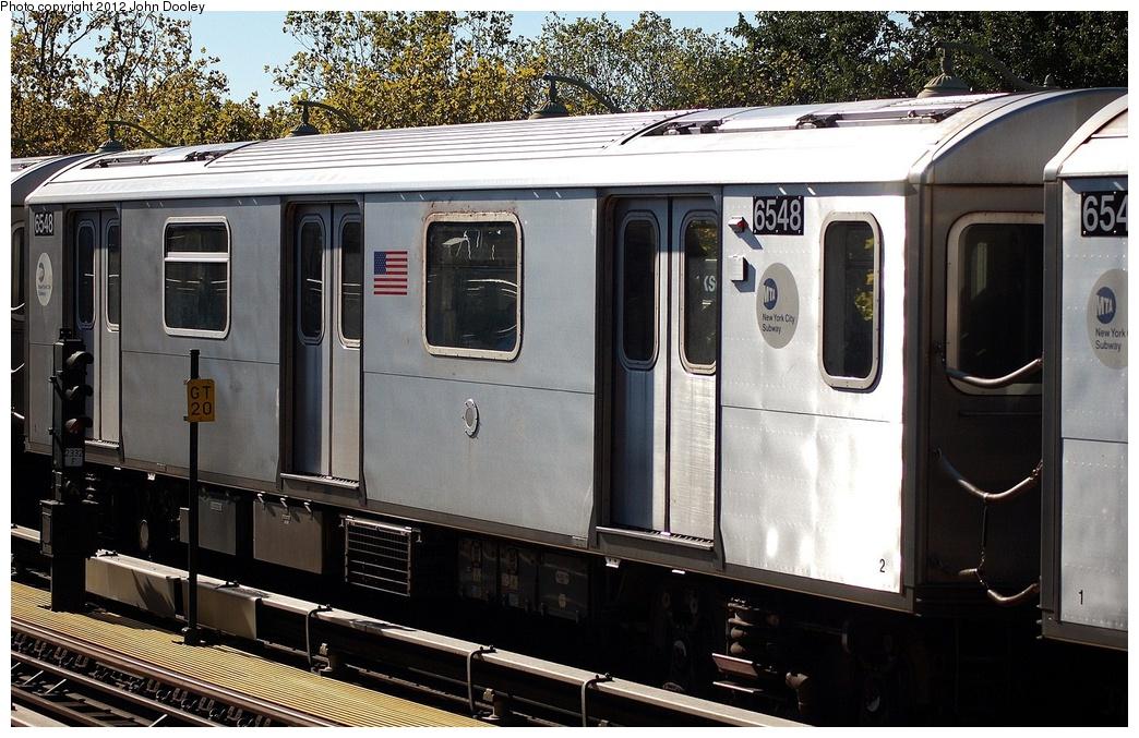(358k, 1044x677)<br><b>Country:</b> United States<br><b>City:</b> New York<br><b>System:</b> New York City Transit<br><b>Line:</b> IRT White Plains Road Line<br><b>Location:</b> Jackson Avenue <br><b>Route:</b> 2<br><b>Car:</b> R-142 (Primary Order, Bombardier, 1999-2002)  6548 <br><b>Photo by:</b> John Dooley<br><b>Date:</b> 10/11/2012<br><b>Viewed (this week/total):</b> 0 / 782