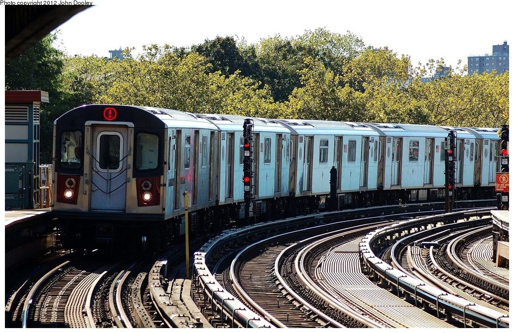 (458k, 1044x677)<br><b>Country:</b> United States<br><b>City:</b> New York<br><b>System:</b> New York City Transit<br><b>Line:</b> IRT White Plains Road Line<br><b>Location:</b> Jackson Avenue <br><b>Route:</b> 5<br><b>Car:</b> R-142 (Primary Order, Bombardier, 1999-2002)   <br><b>Photo by:</b> John Dooley<br><b>Date:</b> 10/11/2012<br><b>Viewed (this week/total):</b> 1 / 983