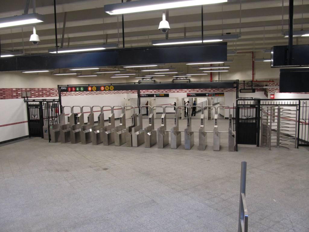 (110k, 1024x768)<br><b>Country:</b> United States<br><b>City:</b> New York<br><b>System:</b> New York City Transit<br><b>Line:</b> IRT Brooklyn Line<br><b>Location:</b> Atlantic Avenue <br><b>Photo by:</b> Robbie Rosenfeld<br><b>Date:</b> 9/19/2012<br><b>Notes:</b> New entrance.<br><b>Viewed (this week/total):</b> 1 / 975