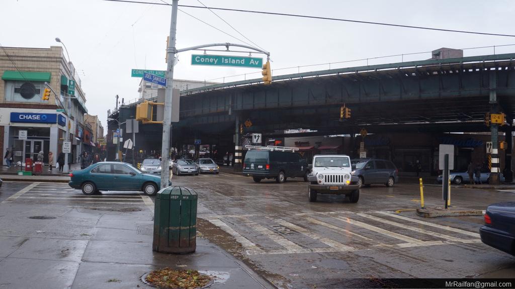 (241k, 1024x575)<br><b>Country:</b> United States<br><b>City:</b> New York<br><b>System:</b> New York City Transit<br><b>Line:</b> BMT Brighton Line<br><b>Location:</b> Brighton Beach <br><b>Photo by:</b> Mr. Railfan<br><b>Date:</b> 10/31/2012<br><b>Notes:</b> Post-Sandy: Brighton beach (with el overhead) after surge waters receeded.<br><b>Viewed (this week/total):</b> 0 / 1298