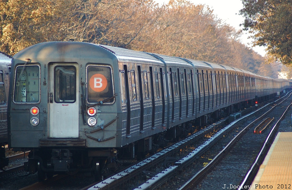 (401k, 1024x668)<br><b>Country:</b> United States<br><b>City:</b> New York<br><b>System:</b> New York City Transit<br><b>Line:</b> BMT Brighton Line<br><b>Location:</b> Neck Road <br><b>Car:</b> R-68 (Westinghouse-Amrail, 1986-1988)  2892 <br><b>Photo by:</b> John Dooley<br><b>Date:</b> 11/11/2012<br><b>Notes:</b> Post-Sandy layups due to Coney Island Yard cleanup<br><b>Viewed (this week/total):</b> 1 / 1043