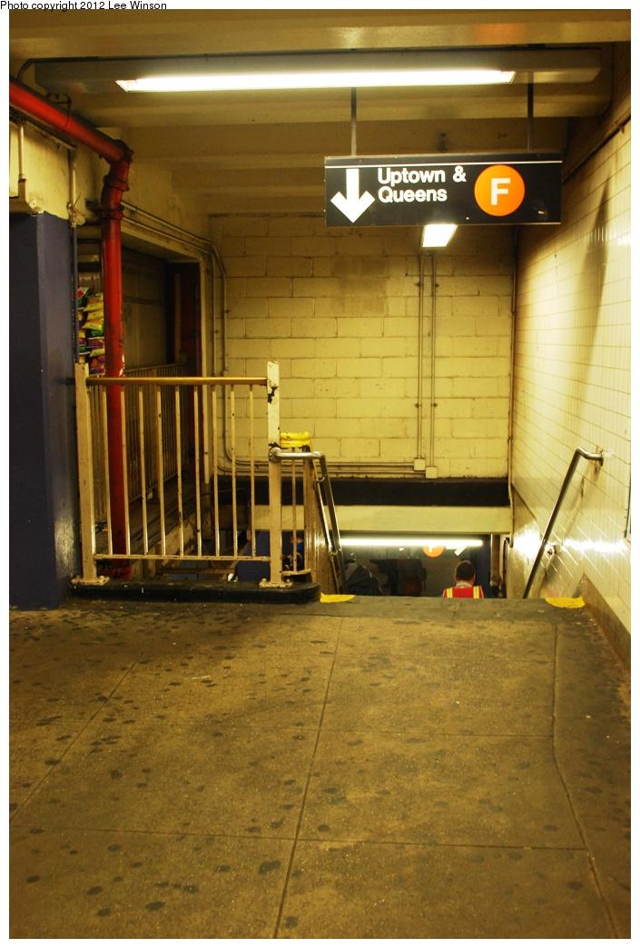 (285k, 705x1044)<br><b>Country:</b> United States<br><b>City:</b> New York<br><b>System:</b> New York City Transit<br><b>Line:</b> IND 6th Avenue Line<br><b>Location:</b> 2nd Avenue <br><b>Photo by:</b> Lee Winson<br><b>Date:</b> 12/2/2012<br><b>Viewed (this week/total):</b> 1 / 690