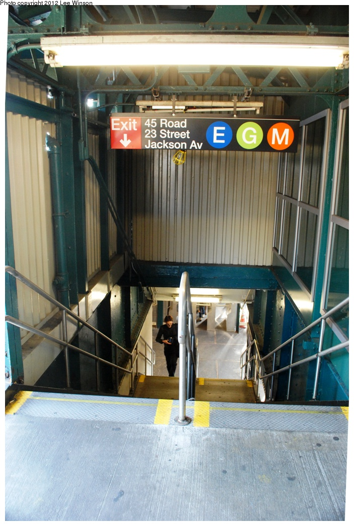 (304k, 703x1044)<br><b>Country:</b> United States<br><b>City:</b> New York<br><b>System:</b> New York City Transit<br><b>Line:</b> IRT Flushing Line<br><b>Location:</b> Court House Square/45th Road <br><b>Photo by:</b> Lee Winson<br><b>Date:</b> 12/2/2012<br><b>Viewed (this week/total):</b> 0 / 986
