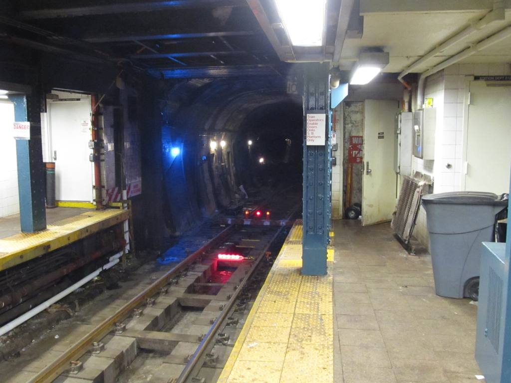 (102k, 1024x768)<br><b>Country:</b> United States<br><b>City:</b> New York<br><b>System:</b> New York City Transit<br><b>Line:</b> BMT Broadway Line<br><b>Location:</b> Whitehall Street <br><b>Photo by:</b> Robbie Rosenfeld<br><b>Date:</b> 12/3/2012<br><b>Notes:</b> Post-Sandy<br><b>Viewed (this week/total):</b> 16 / 1977