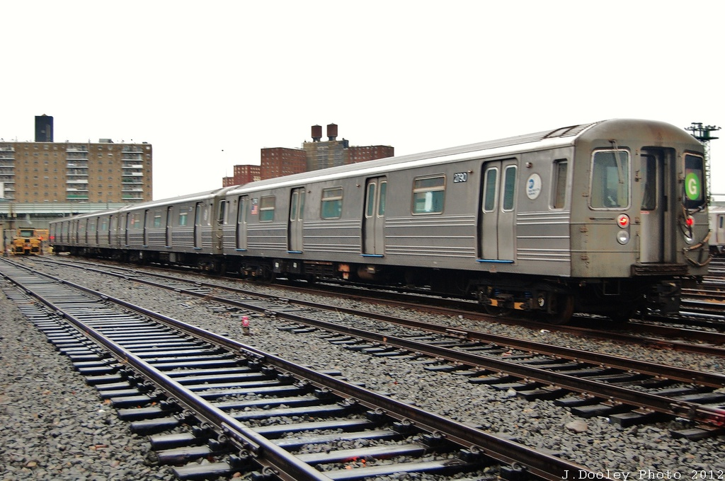 (317k, 1024x680)<br><b>Country:</b> United States<br><b>City:</b> New York<br><b>System:</b> New York City Transit<br><b>Location:</b> Coney Island Yard<br><b>Car:</b> R-68 (Westinghouse-Amrail, 1986-1988)  2790 <br><b>Photo by:</b> John Dooley<br><b>Date:</b> 12/9/2012<br><b>Viewed (this week/total):</b> 0 / 851