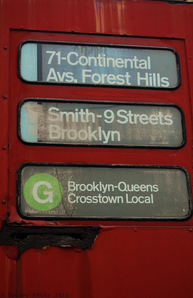 (293k, 664x1023)<br><b>Country:</b> United States<br><b>City:</b> New York<br><b>System:</b> New York City Transit<br><b>Location:</b> Coney Island Yard-Training Facilities<br><b>Car:</b> R-30 (St. Louis, 1961) 8425 <br><b>Photo by:</b> John Dooley<br><b>Date:</b> 12/8/2012<br><b>Notes:</b> School car- Rollsign<br><b>Viewed (this week/total):</b> 1 / 1737