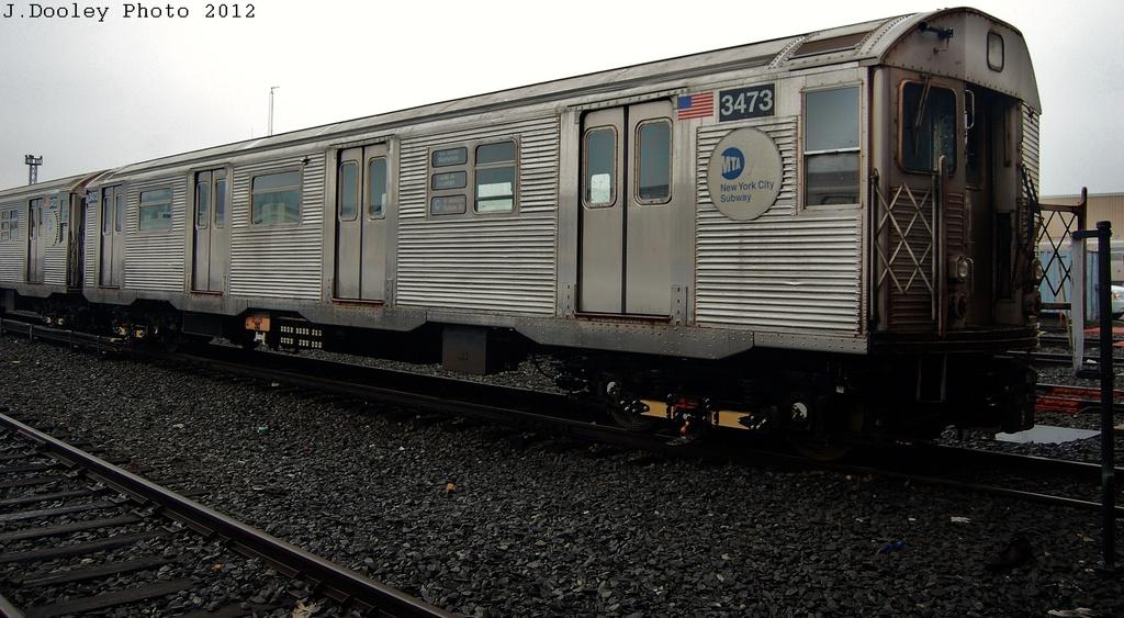 (295k, 1024x563)<br><b>Country:</b> United States<br><b>City:</b> New York<br><b>System:</b> New York City Transit<br><b>Location:</b> Coney Island Yard<br><b>Car:</b> R-32 (Budd, 1964)  3473 <br><b>Photo by:</b> John Dooley<br><b>Date:</b> 12/8/2012<br><b>Viewed (this week/total):</b> 0 / 600