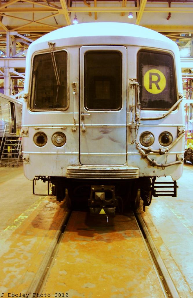 (311k, 666x1025)<br><b>Country:</b> United States<br><b>City:</b> New York<br><b>System:</b> New York City Transit<br><b>Location:</b> Coney Island Shop/Overhaul & Repair Shop<br><b>Car:</b> R-46 (Pullman-Standard, 1974-75)  <br><b>Photo by:</b> John Dooley<br><b>Date:</b> 12/8/2012<br><b>Viewed (this week/total):</b> 1 / 830